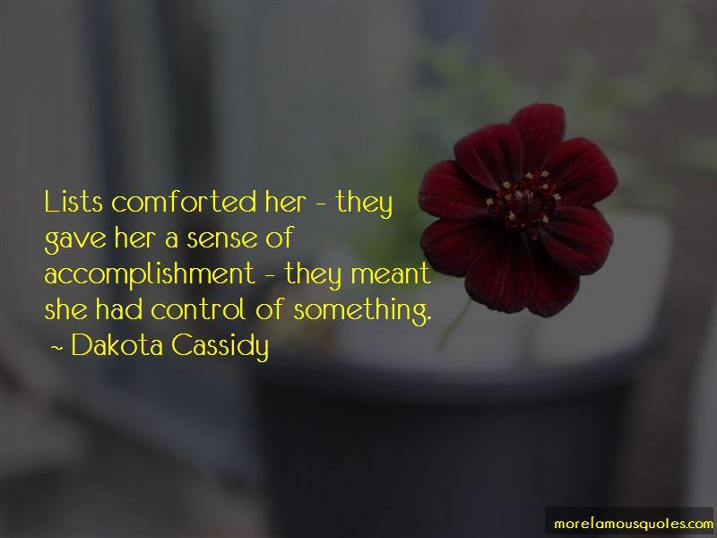 Dakota Cassidy Quotes Pictures 2