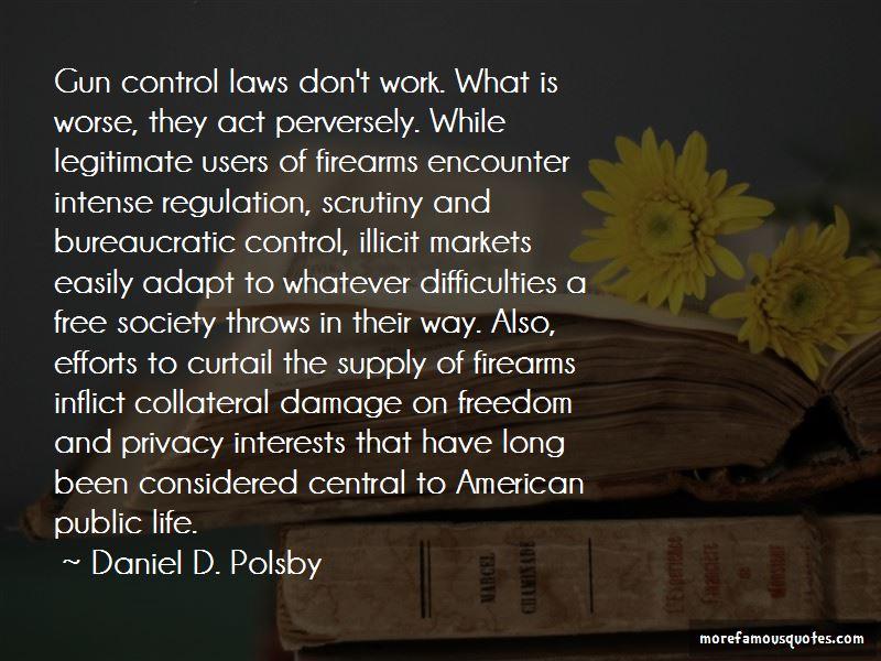 Daniel D. Polsby Quotes