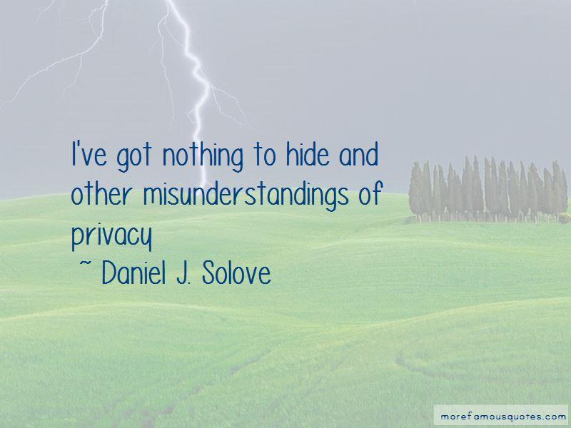 Daniel J. Solove Quotes Pictures 2