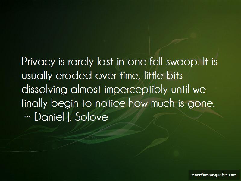 Daniel J. Solove Quotes