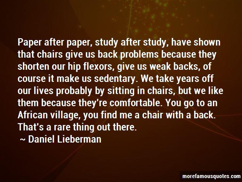 Daniel Lieberman Quotes Pictures 4
