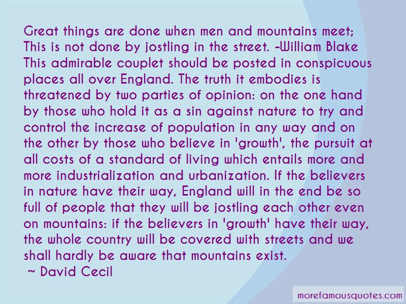 David Cecil Quotes Pictures 4