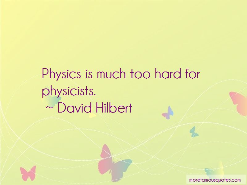 David Hilbert Quotes Pictures 4