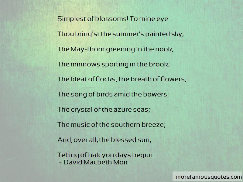 David Macbeth Moir Quotes Pictures 3