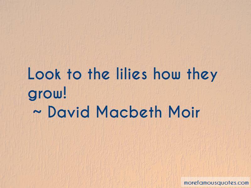 David Macbeth Moir Quotes Pictures 4