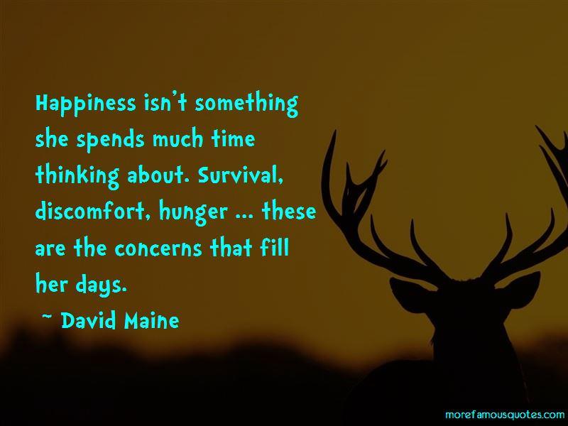 David Maine Quotes
