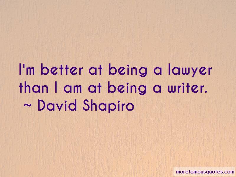 David Shapiro Quotes Pictures 2