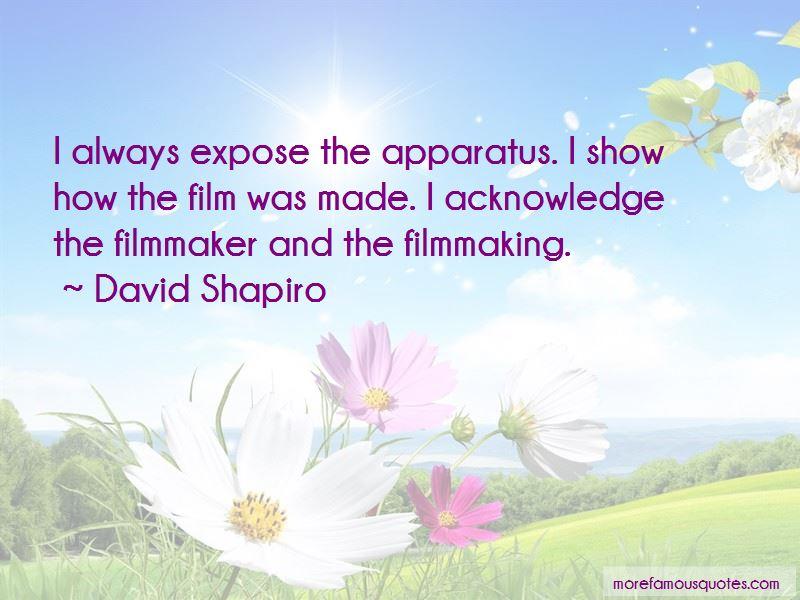 David Shapiro Quotes
