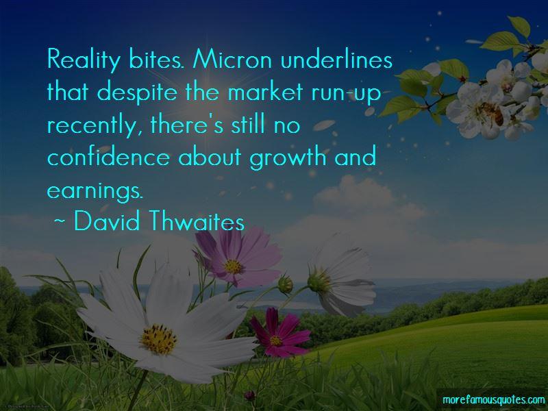 David Thwaites Quotes