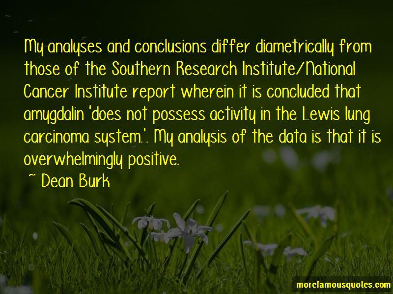 Dean Burk Quotes Pictures 2