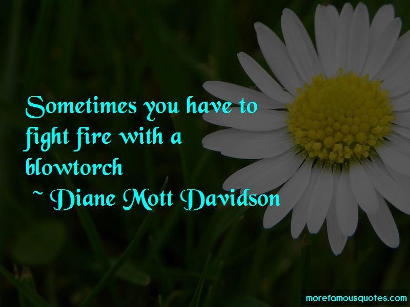 Diane Mott Davidson Quotes Pictures 2