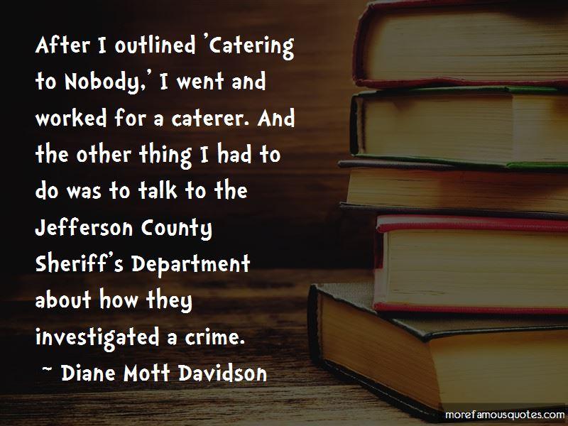 Diane Mott Davidson Quotes Pictures 3