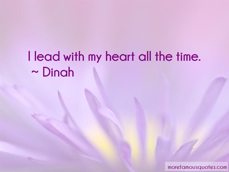 Dinah Quotes