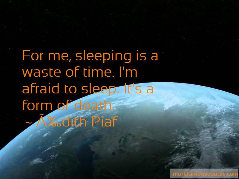 Édith Piaf Quotes