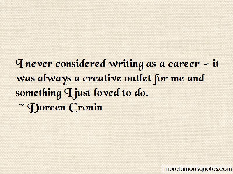 Doreen Cronin Quotes