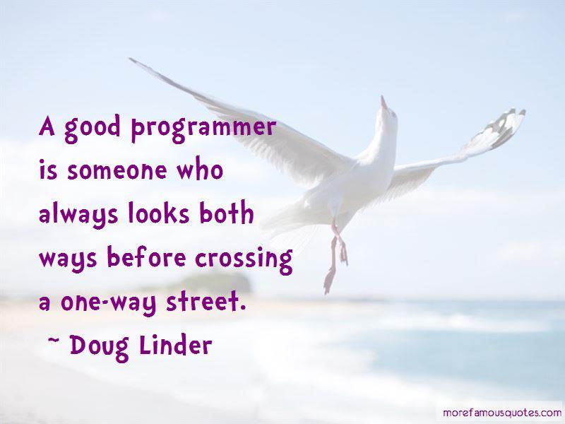 Doug Linder Quotes