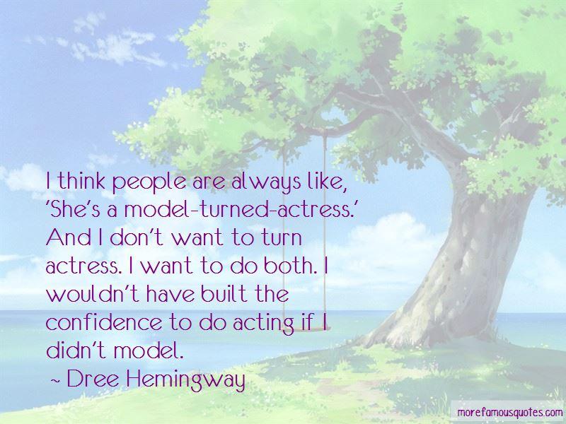 Dree Hemingway Quotes Pictures 3