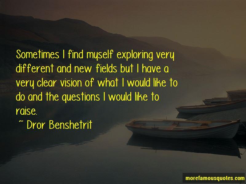 Dror Benshetrit Quotes Pictures 4