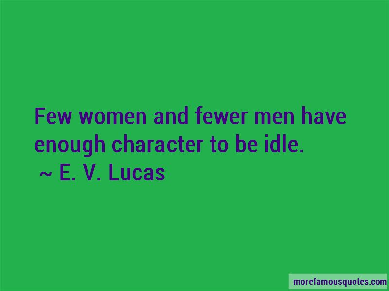 E. V. Lucas Quotes Pictures 2