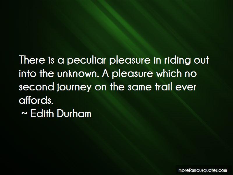 Edith Durham Quotes