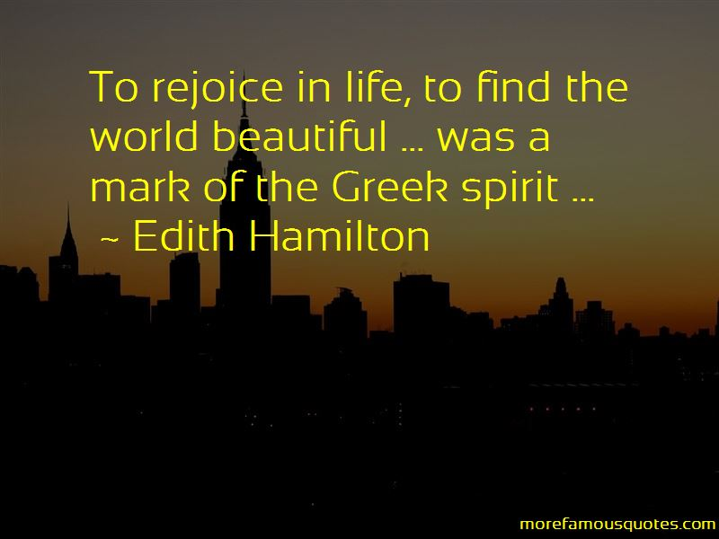 Edith Hamilton Quotes Pictures 4