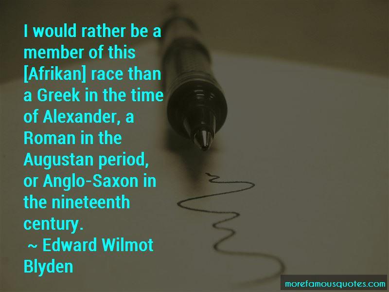 Edward Wilmot Blyden Quotes