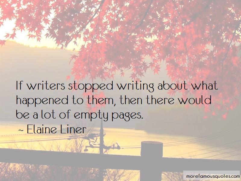 Elaine Liner Quotes