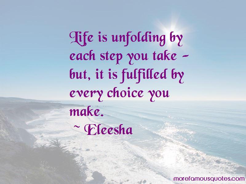 Eleesha Quotes