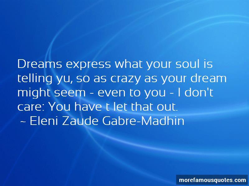 Eleni Zaude Gabre-Madhin Quotes Pictures 2