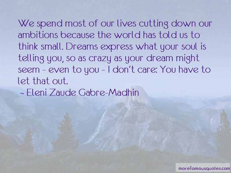 Eleni Zaude Gabre-Madhin Quotes