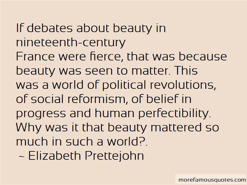 Elizabeth Prettejohn Quotes