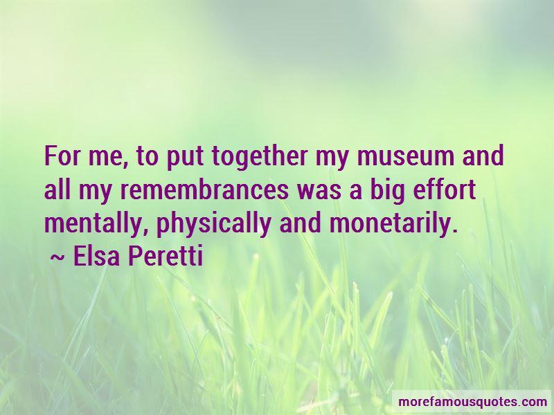 Elsa Peretti Quotes