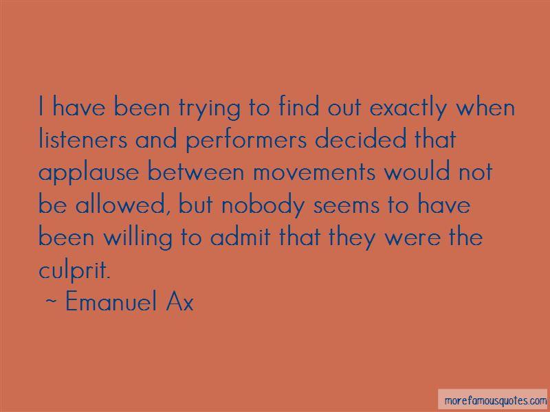 Emanuel Ax Quotes Pictures 2