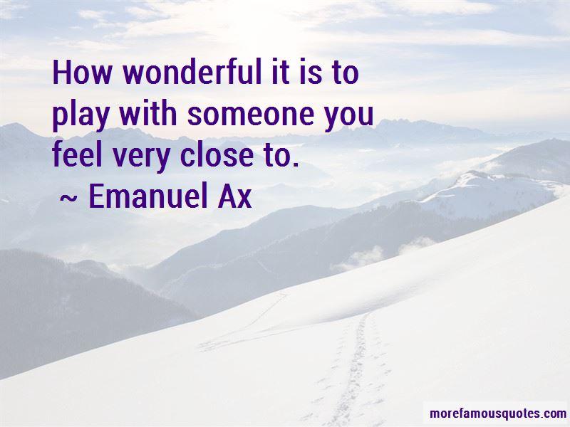 Emanuel Ax Quotes Pictures 3