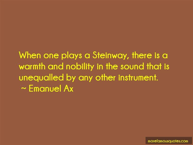 Emanuel Ax Quotes