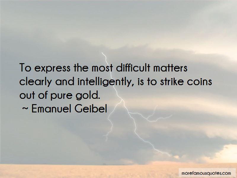 Emanuel Geibel Quotes Pictures 2