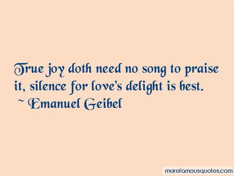 Emanuel Geibel Quotes