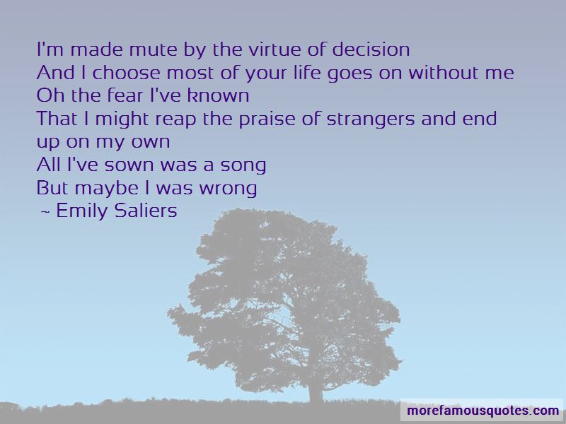Emily Saliers Quotes