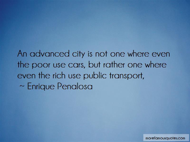 Enrique Penalosa Quotes Pictures 4