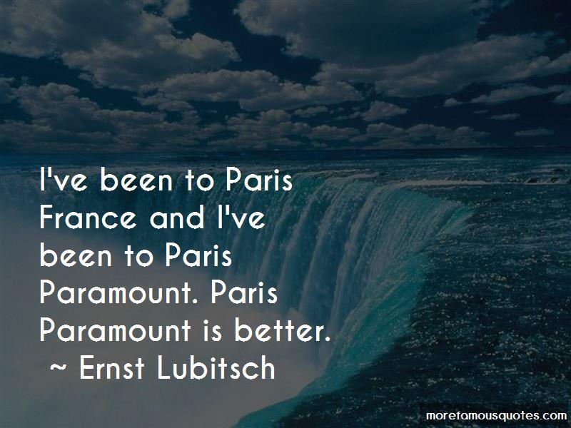Ernst Lubitsch Quotes Pictures 2