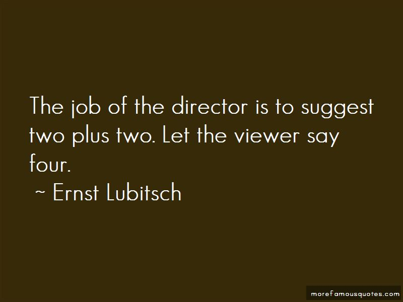 Ernst Lubitsch Quotes Pictures 4