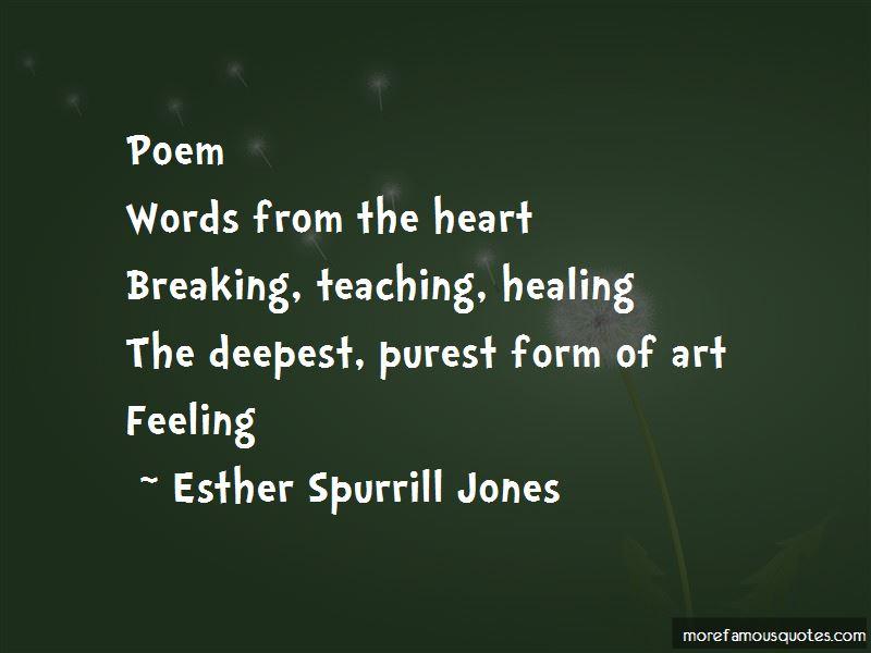 Esther Spurrill Jones Quotes Pictures 2