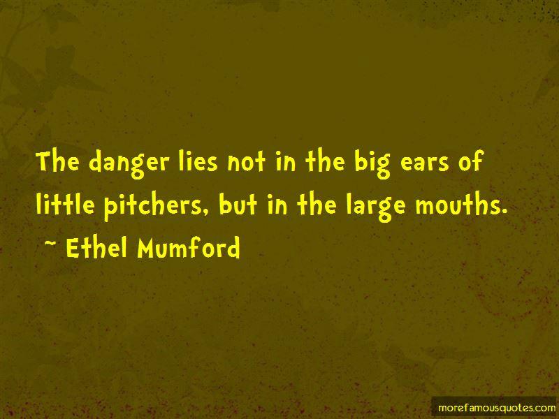 Ethel Mumford Quotes Pictures 3