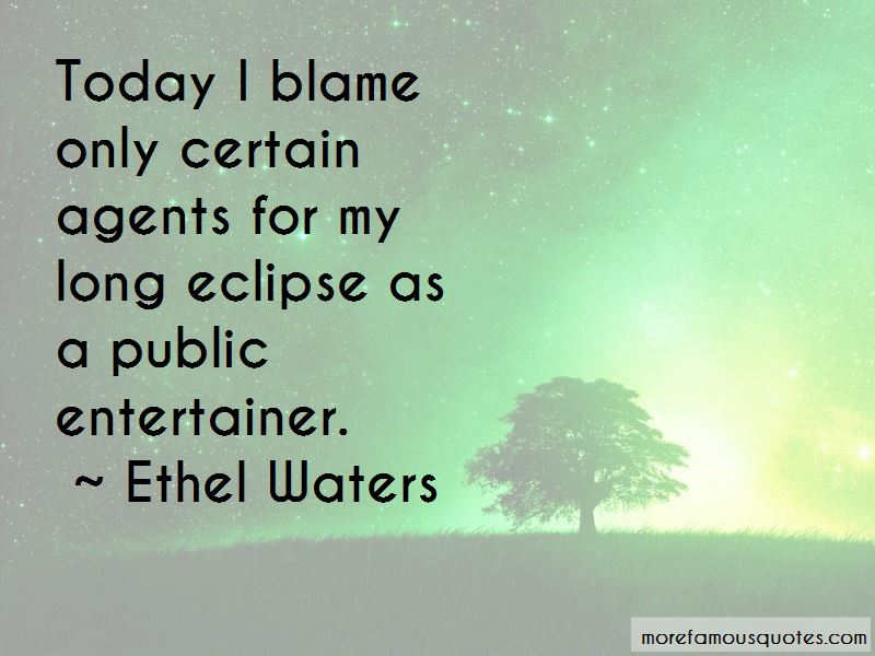 Ethel Waters Quotes Pictures 2