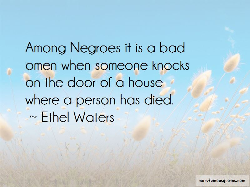 Ethel Waters Quotes Pictures 3