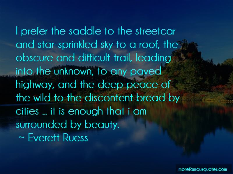 Everett Ruess Quotes Pictures 4