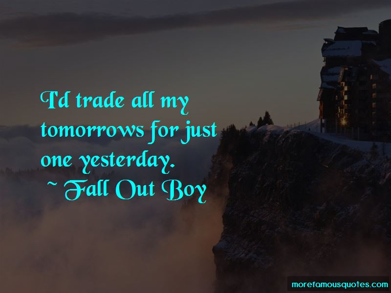 Fall Out Boy Quotes Pictures 2