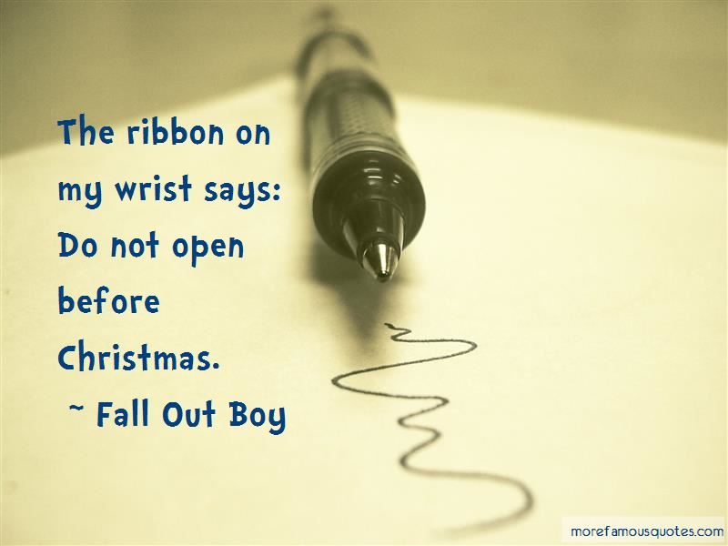 Fall Out Boy Quotes Pictures 3