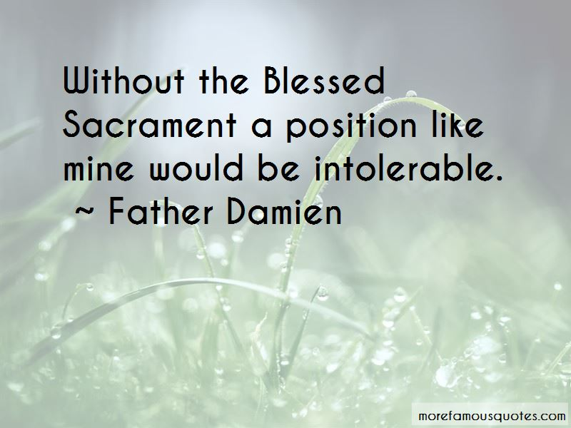 Father Damien Quotes Pictures 2