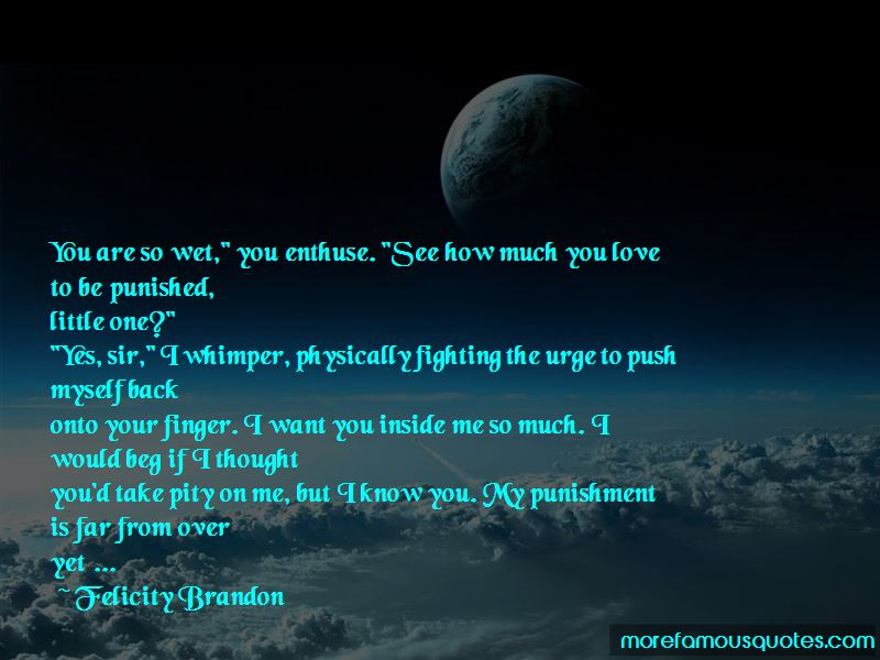 Felicity Brandon Quotes Pictures 2